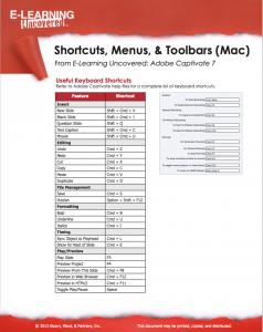 Cap 7 Shotcuts mac