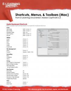 Cap5shortcuts mac