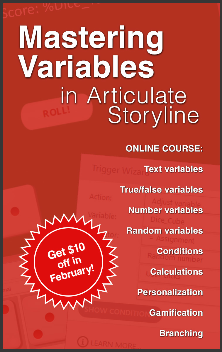 Mastering Variables On Demand Course