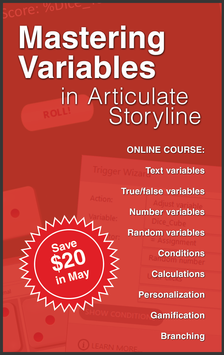 Coupon for Mastering Variables On Demand Course