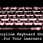 New Storyline Keyboard Shortcuts for Leaners title graphic